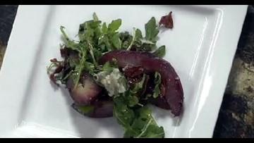 Winter Pear and Gorgonzola Salad