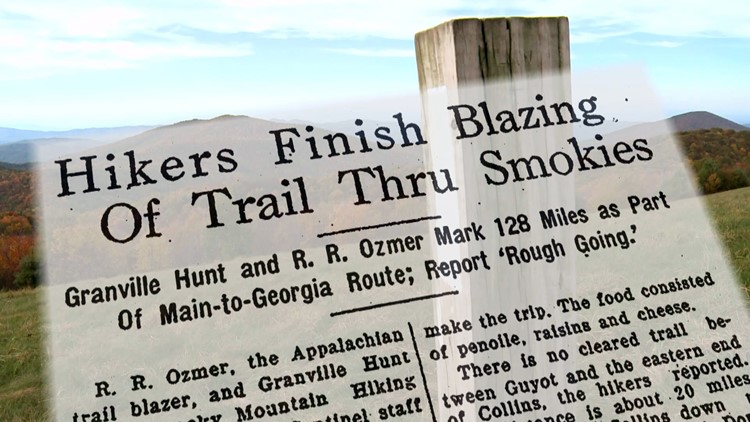Hikers finish blazing Smokies Appalachian Trail Granville Hunt for History