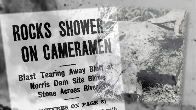 Rocks Shower Cameramen Norris Granville Hunt for History