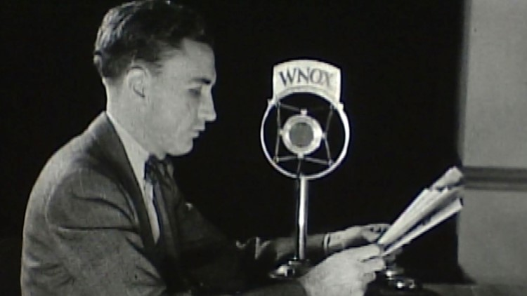 B.F. Henry Jr. WNOX Granville Hunt for History