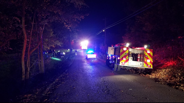 """KCSO: """"At least one fatality"""" in North Knox County crash involving 4 people"""