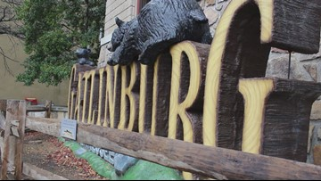 'We love you and are praying for you.' Gatlinburg residents send messages to California