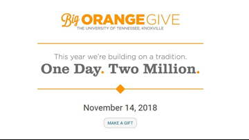 Big Orange Give: UT exceeds $2 million dollar fundraising goal in 24 hours