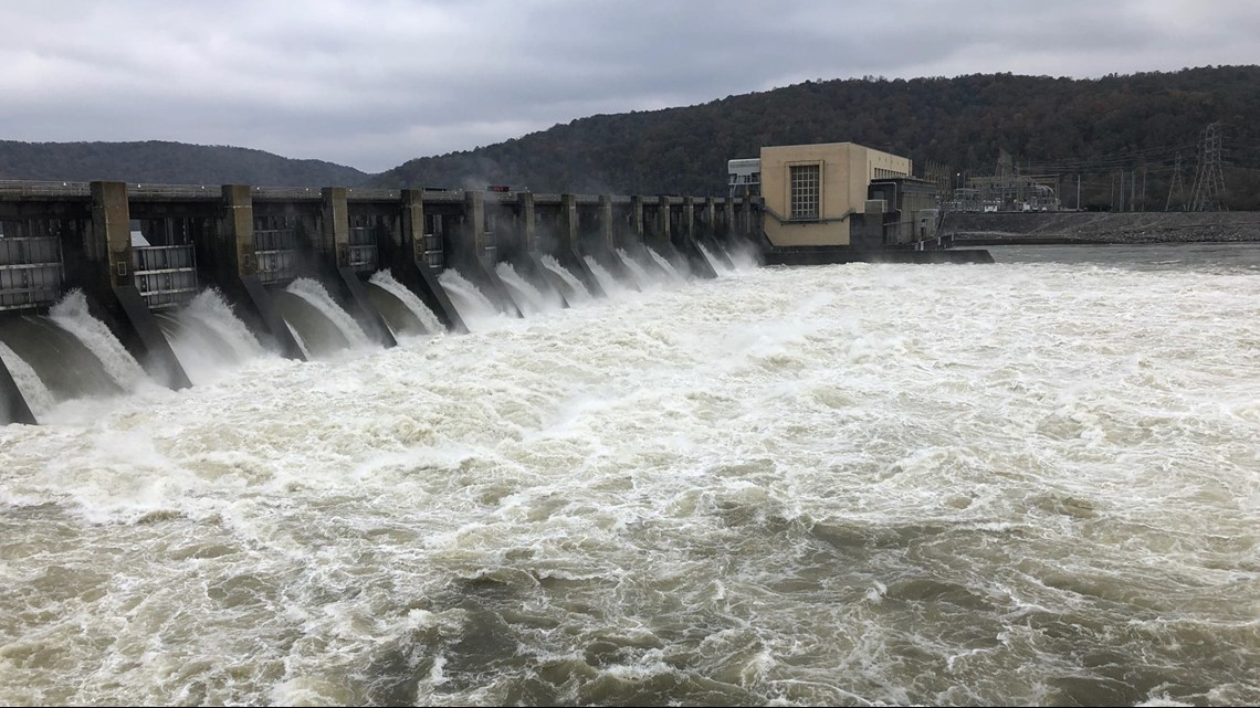 Gas Prices In Tennessee >> After rainy fall, TVA spilling at Tennessee River dams ...