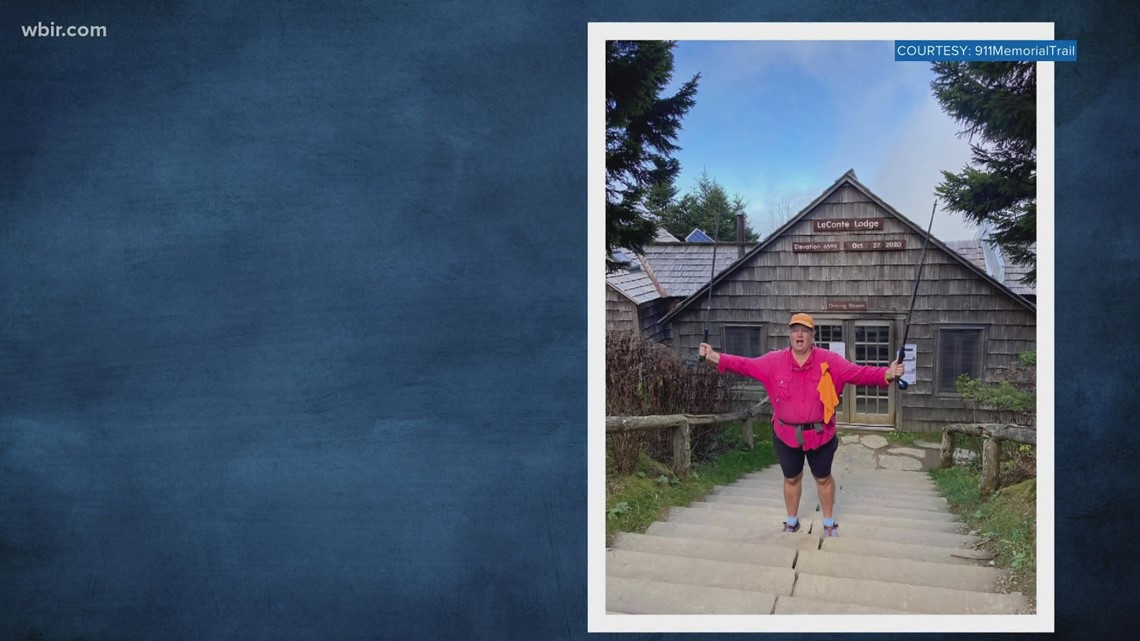 Knoxville woman hikes 1,300 miles in remembrance of 9/11