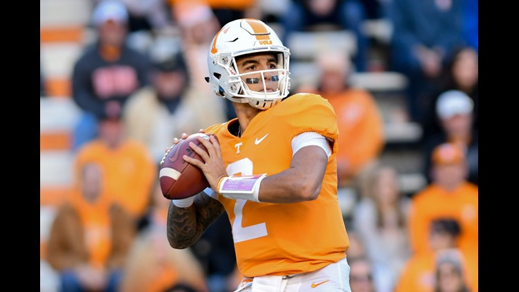 Pruitt says Guarantano is 'day-to-day'