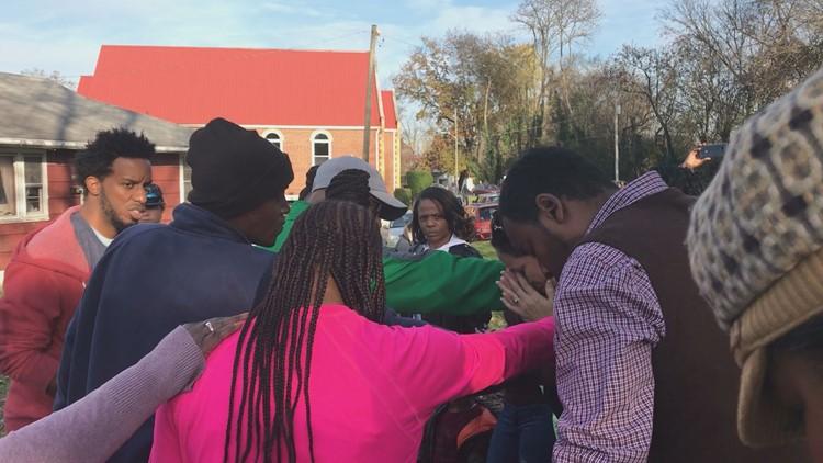 East Knoxville community holds prayer walk against gun violence
