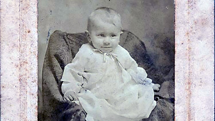 Baby 1909 Granville Hunt for History