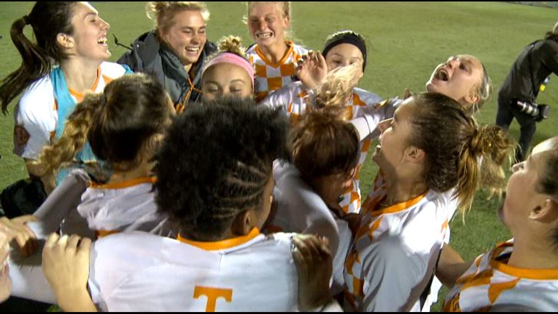 Tennessee Soccer wins 3-0, set for first-ever Elite 8 appearance
