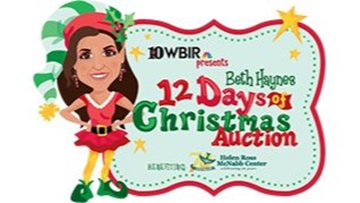 Beth Haynes 12 Days of Christmas auction 2018