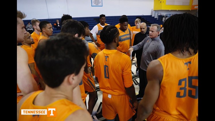Vols practice this week in New York
