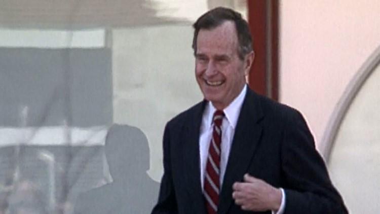 President George Bush February 1992 Oak Ridge 2