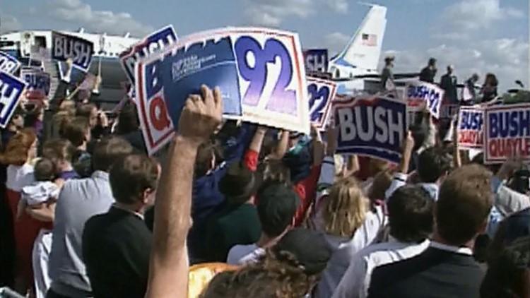 1992 September Airport President Bush
