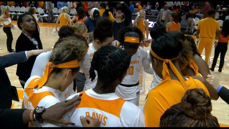 Lady Vols hit the hardwood against No. 8 Stanford