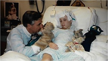 Mr. Rogers was a friend to everyone. But to one sick little girl, he was a life saver