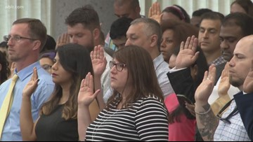 East Tennessee welcomes 129 new American citizens ahead of Independence Day