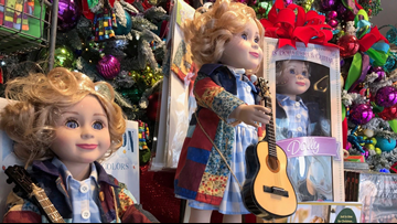 New Dolly Parton doll flying off shelves at Dollywood
