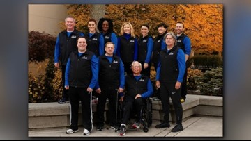 2019 Covenant Health Knoxville Marathon team full of American Heroes