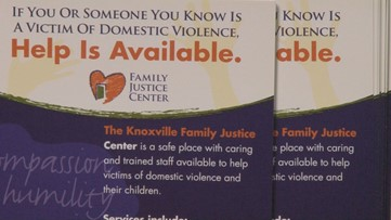 Knoxville Family Justice Center creates safety cards for businesses to distribute with deliveries