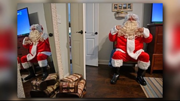 This Santa makes house calls to share Christmas spirit with special-needs kids