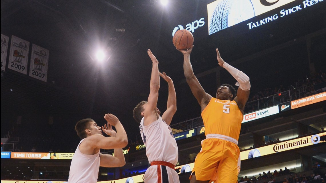 Vols climb to No. 3 in the AP Poll after win over No. 1 ranked Gonzaga