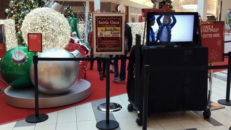 Santa Claus West Town Mall