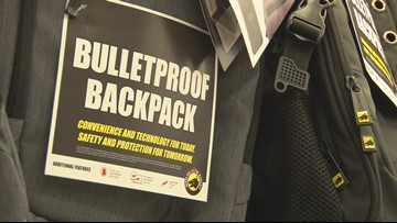 Experts say bulletproof backpacks may not be the best idea for students