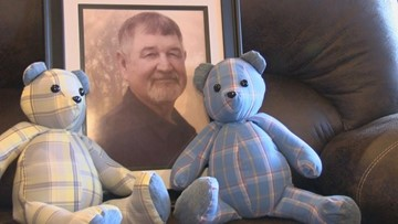 Memory bears: Local woman sews special and unique keepsakes to comfort those grieving