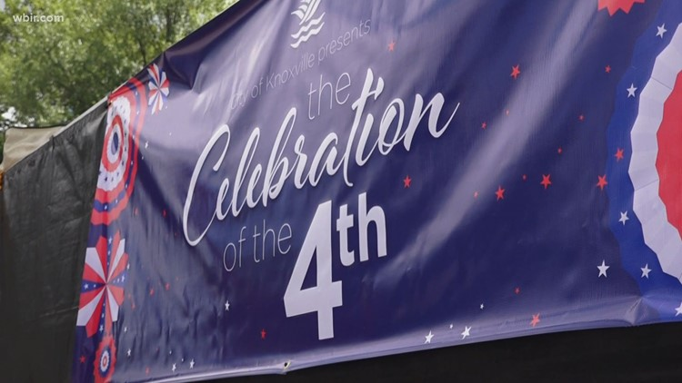 City of Knoxville prepares for Celebration of the Fourth