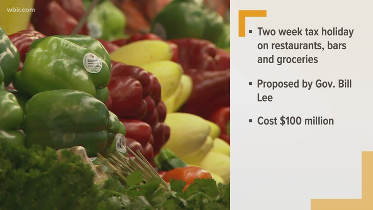Gov. Bill Lee proposes two-week sales tax holiday for restaurant, bar and grocery purchases