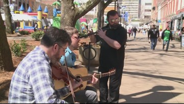 Visitors get ready for big weekend in Knoxville