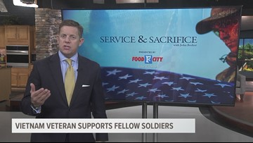 Service and Sacrifice: Vietnam veteran supports fellow soldiers