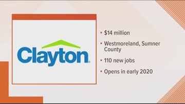 Clayton to open supply facility in Middle TN