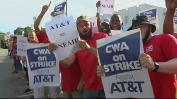 CWA: AT&T workers have ended strike