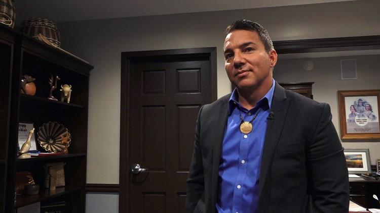 EBCI Principal Chief Richard Sneed Eastern Band of Cherokee Indians