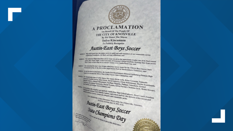 June 15, 2021 proclaimed to be