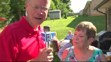 Backyard BBQ: Bobbie Owenby celebrates birthday and 20 years since heart transplant
