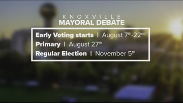Here is what you need to know from the Knoxville Mayoral Debate before you hit the polls
