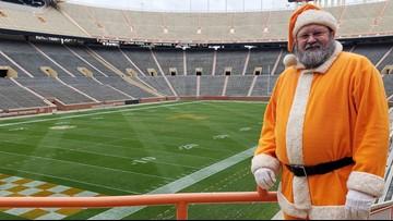 Happy Volidays! 'Vol Santa,' Sinan the Squirrel visit University of Tennessee