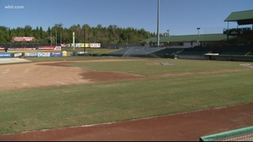 Smokies bring in new turf