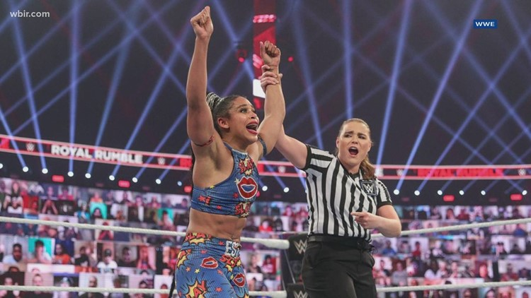 VFL Bianca Belair returns to Knoxville for WWE Smackdown, visits Austin-East High School ahead of homecoming game
