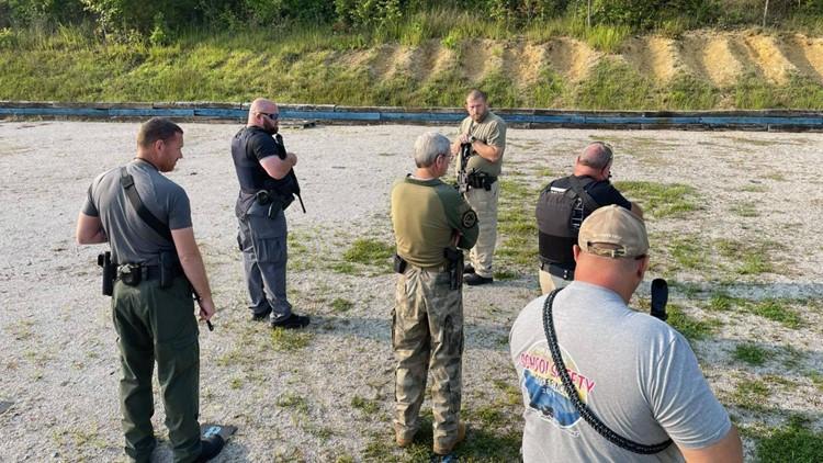 Roane Co. school resource officers go through firearm training for start of school