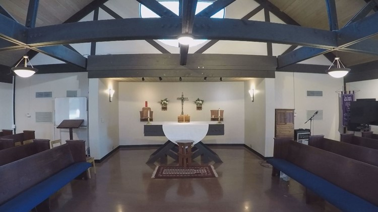 The chapel at the Episcopal School of Knoxville