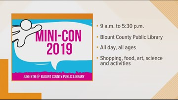 Blount County Public Library to hold mini comic convention
