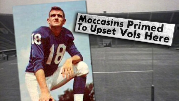 Johnny Green Chattanooga Quarterback Moccasins Upset Vols 1958