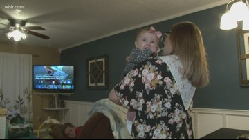 Local mom praises how a chiropractor helped her newborn