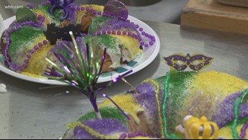 The meaning behind those colorful King Cakes