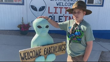 Knoxville Boy Scout 'probed' Nevada desert ahead of 'Storm Area 51' event