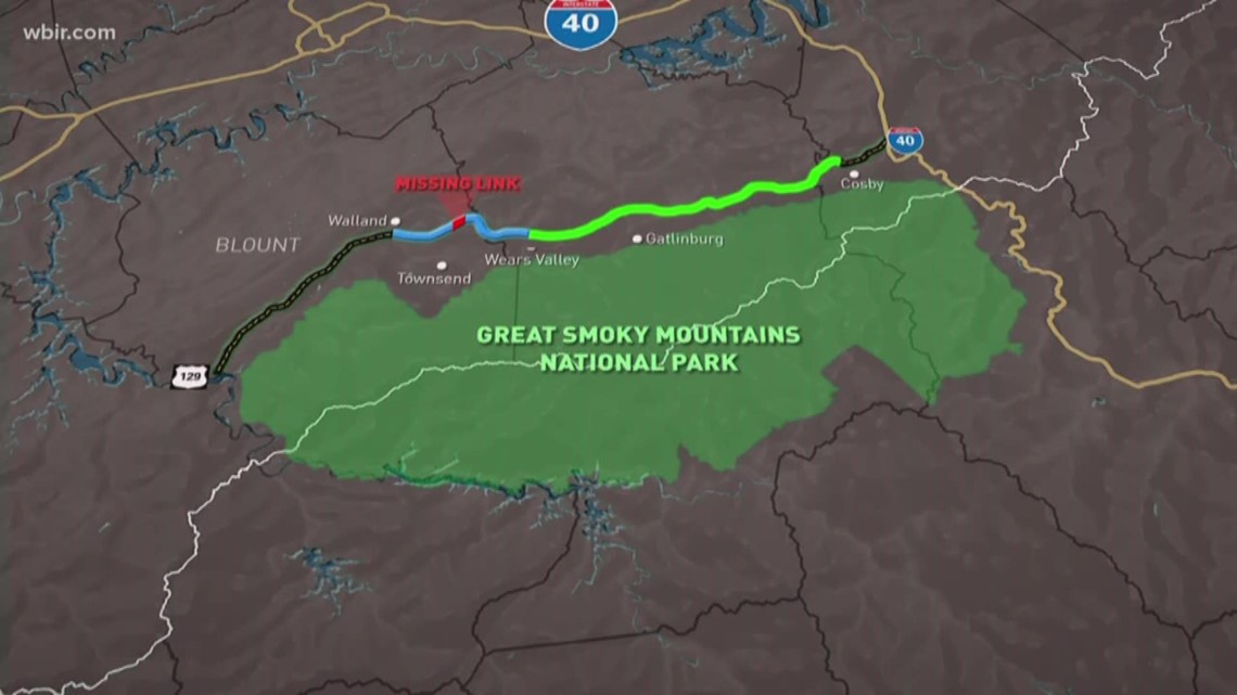Foothills Parkway Missing Link Connected Wbir Com
