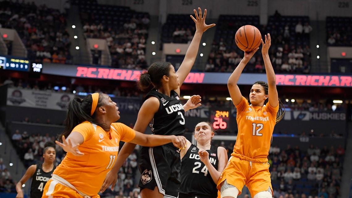 Lady Vols second half struggles end upset bid against No. 3 UConn